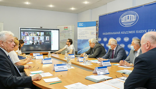 Azərbaycanlı alim Beynəlxalq Elmlər Akademiyası Birliyinin Virusologiya üzrə Elmi şurasının iclasında çıxış edib