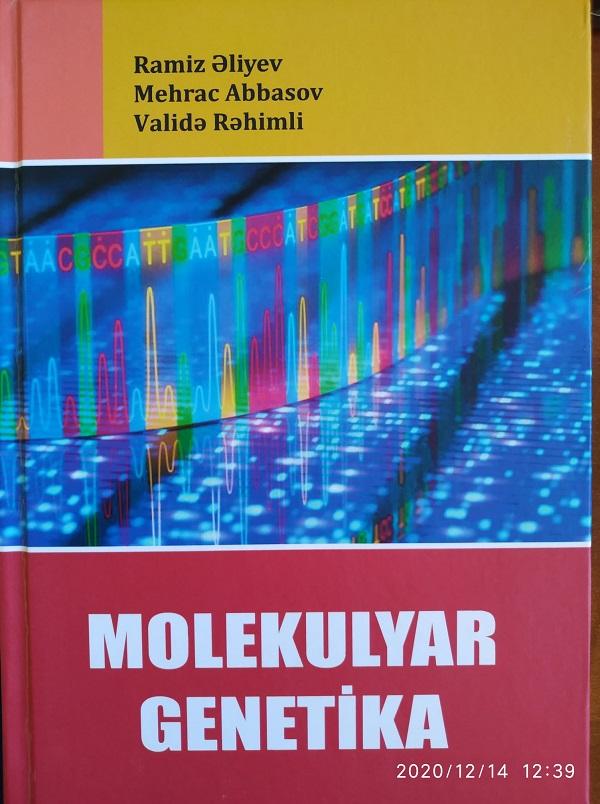 """Yeni dərs vəsaiti:""""Molekulyar genetika"""
