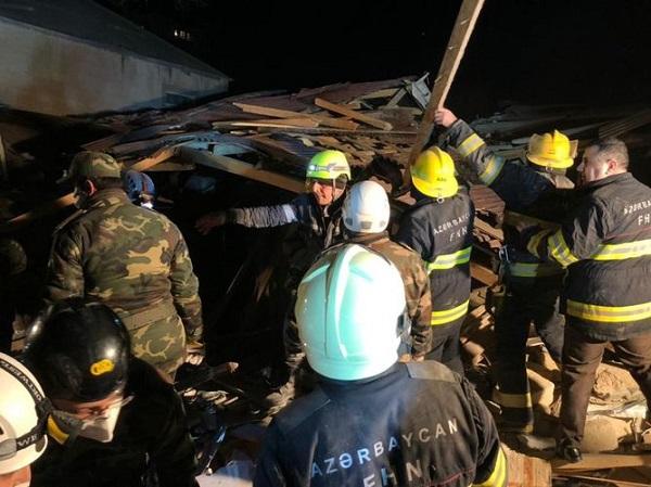 Xırdalanda baş vermiş partlayış nəticəsində 6 nəfər xəstəxanaya yerləşdirilib