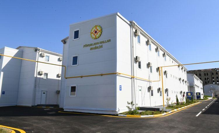 FHN-in Modul Tipli Hospitalında həkimlərin COVID-19-la mübarizəsi davam edir -VİDEO