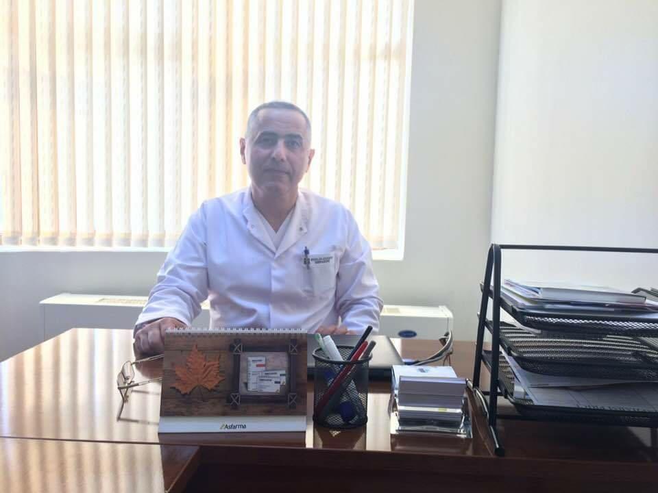 Tanınmış travmatoloq-ortoped COVID-19-dan vəfat edib