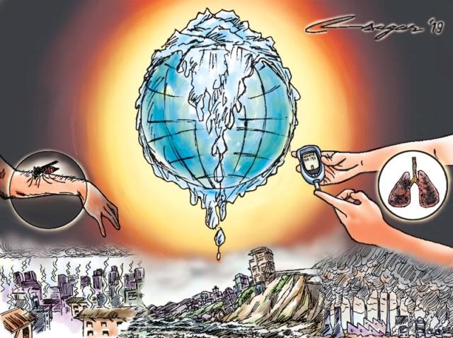 15 may - Beynəlxalq İqlim Günüdür -İqlim dəyişikliyi və sağlamlıq riskləri