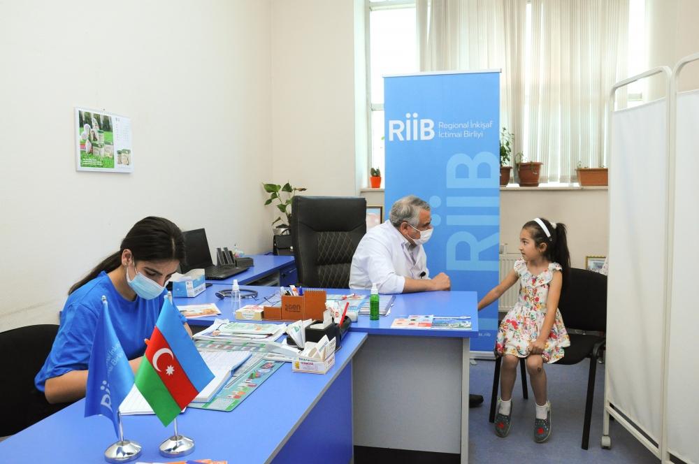 Regionlarda uşaqların onkoloji müayinələri aparılır - Fotolar