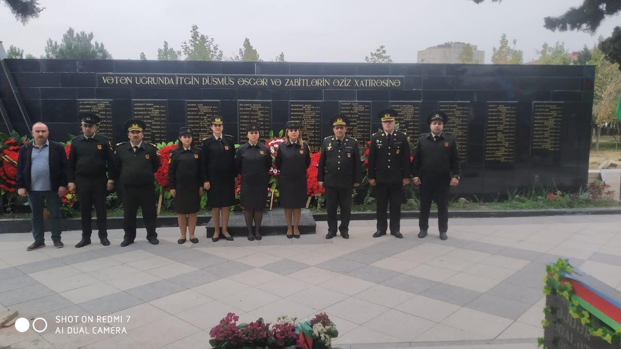 ATU-nun kollektivi şəhid məzunlarının anım mərasimlərində yaxından iştirak edir