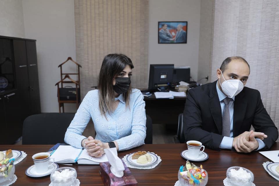 ATU-daMacarıstanın Pecs Universitetinin təmsilçisi ilə görüş keçirilib - Fotolar