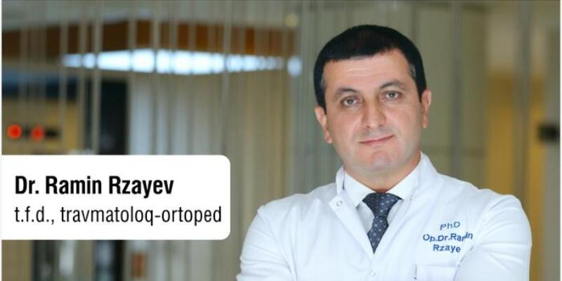 """Ramin Rzayev: """"Məqsədimiz travmatologiya-ortopediya sahəsində yenilikləri gündəlik praktikamızda tətbiq etməkdir"""""""